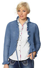 Stockerpoint Costume Cardigan - Cade- denim