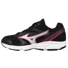 Mizuno Maximizer 18 W Black Pink Womens Running Shoes Sneakers K1GA16-1304