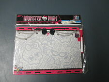 NEW Monster High Dry Erase Board with Hanger and Marker Approx. 11 x 8 inches