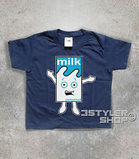 T-SHIRT baby MILKY Blur Milk Dance Coffee and TV missing music