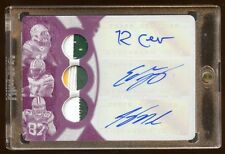 PACKERS 1/1 TRIPLE AUTO PATCHES LOGO JORDY NELSON-EDDIE LACY-RANDALL COBB 2015