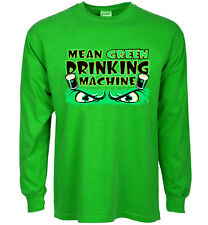 funny st patricks day t-shirt mean green drinking machine beer paddys day tee