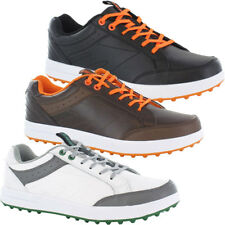 Hi-Tec Mens Combi Sneaker Spikeless Golf Shoes Water Resistant Leather