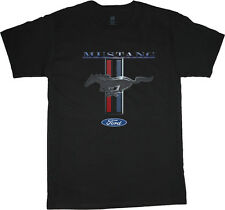 Ford Mustang t-shirt for men mustang pony tri bar tee shirt ford shirts men's