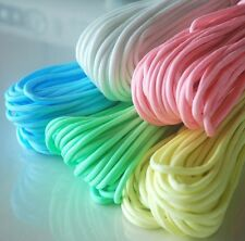 NEW 9 Strand 550 Luminous Glow in the Dark Paracord Parachute Cord 25FT 5 Colors