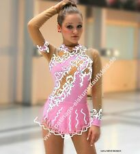 Figure ice skating dress  roller skater dance show costume