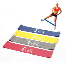 Exercise Resistance Band Variety Tension Loop Gym Yoga