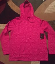 NWT Nike Mirror Athletic Sweatshirt Therma Fit Pink Womens Cascade Hoodie