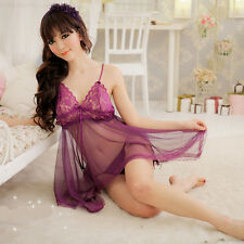 Sexy See-through Lingeries Sexy Pajamas Seductive Dresses Sleepwears Nightgowns