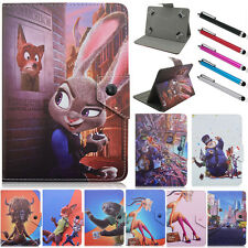 """Kids Folio Stand Leather Cover Magnetic Buckle Case For Universal 7"""" inch Tablet"""