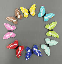 Free shipping Butterfly Wood Buttons 2 Holes Fit Sewing Scrapbook Crafts 18mm