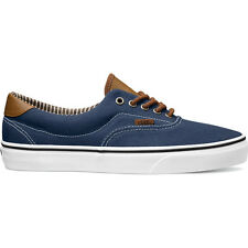 Vans Era 59 Mens Footwear Shoe - C And L Dress Blues Stripe Denim All Sizes