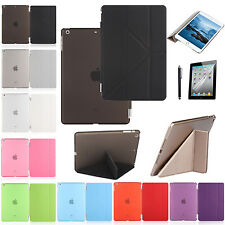 Slim Flip Magnetic PU Leather Smart Stand Case Cover for Apple iPad &Mini