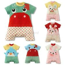 Baby Boy Girl Infant Nice Summer Cartton Romper Jumpsuit Bodysuit Clothes Outfit