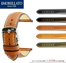 Italy MORELLATO Cezanne Geniune LEATHER CALFSKIN Watch Band 18mm (Select Color)