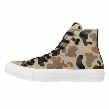 Converse Chuck Taylor All Star II Reflective Camo 2 Brown Green Mens 151159C