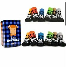 Bufflo Baby Infants Toddler Socks Shoes Anti-slip Shoes Slipper Shoelace Shoes
