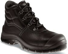 Almar Leather Safety Toe Scuff Cap Work S1P Safety Boots Shoes UK 13 (BV10)
