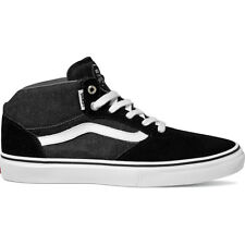 Vans Skate Gilbert Crockett Pro Mid Mens Footwear Shoe - Black Asphalt White