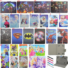 Kids Flip Stand Cover PU Leather Magnetic Buckle Case For Samsung Galaxy Tab 7''