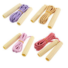 Sports Fitness Exercise Plastic Nonslip Grip Skipping Jumping Rope 2.2 M Length
