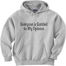 hooded sweatshirt hoodie Men's size sweat shirt funny saying