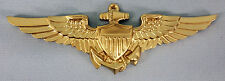 US COAST GUARD MARINE CORPS NAVY NAVAL AVIATOR INSIGNIA PLAQUE