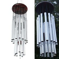 DEEP RESONANT Antique Chapel Church TUBES BELLS Wind Chimes RELAXING WINDCHIME