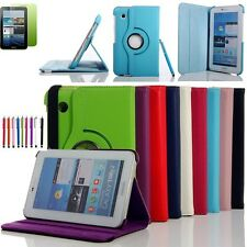 "PU Leather Stand Case Cover For Samsung Galaxy Tab 2 7"" Tablet P3100 P3110 P3113"