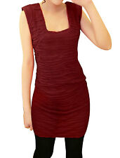 Stylish Square Neckline Pullover Stretchy Slimming Mini Dress For Lady