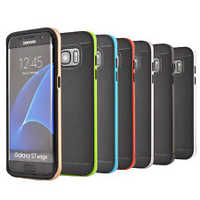 Soft Silicone Gel Case Cover for Samsung Galaxy S7 Edge + Screen Protector US