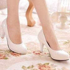 Womens mary Jane Stiletto High Heels Office Dress Platform Pumps Round Toe shoes