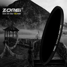 Zomei 43/46/49/52/55/58/62/67/72/77/82mm 950nm IR filter Infrared Infra-Red IR