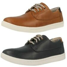 Men's Clarks Midcut Casual Sporty Lace Up Shoes - Newood Fly