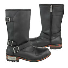 Xelement Men's 3 Buckle w/Shifter Pad Motorcycle Engineer Boots size 8-13 LU9605