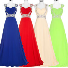 Grace Karin Long Maxi Cocktail Evening Dress Party Prom Formal Bridesmaid Gowns