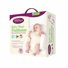 Brand new in box Clevamama Clevasleep baby sleep positioner from birth in cream