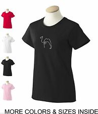 T-Shirt WOMENS Picasso Funny Camel Modern Cool Tee S M L XL 2L 3XL Line Art NEW