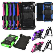 Phone Case For Samsung Galaxy Express 3 4G LTE Holster Cover Rugged Stand - AT&T
