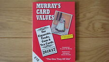 MURRAY'S CARD VALUES 2016/17 Cigarette Trade Gum Tea cards NEW UK POST FREE