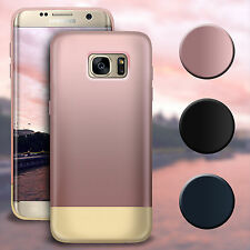 For Samsung Galaxy S6/S7/S7 Edge Shockproof Hybrid Rugged Rubber Hard Case Cover