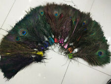 Wholesale 10-200 pcs beautiful peacock feathers 10-12 inches / 25-30 cm
