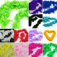 Colors Feather Boa Fluffy Craft Costume Wedding Party Dressup Home Flower Decor