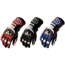 Buffalo 480 Leather Summer Motorbike Motorcycle Armoured Racing Vented Gloves