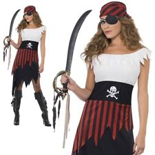 Adult Pirate Wench Ladies Costume Caribbean Fancy Dress Outfit