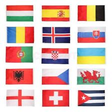 Large 5 x 3FT World International National Country Fans Supporters Flags Banners