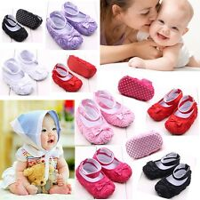 0-12 Months new Infant Girl Baby shoes Toddler Sneakers Soft Sole Crib Shoes US