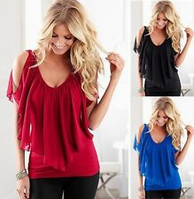 Summer Womens Lady Tank Fashion Loose Vest Sleeveless T-Shirt Casual Tops Blouse