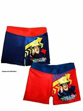 Boys FIREMAN SAM RED or NAVY Holiday Swimming Trunks/Shorts  Ages  2 3 4 5 6