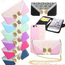 Luxury Leather Card Wallet Flip Case Cover for Apple iPhone 6 6S Plus